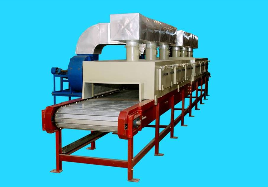 Features Continuous Process Due To Conveyor Heating Is